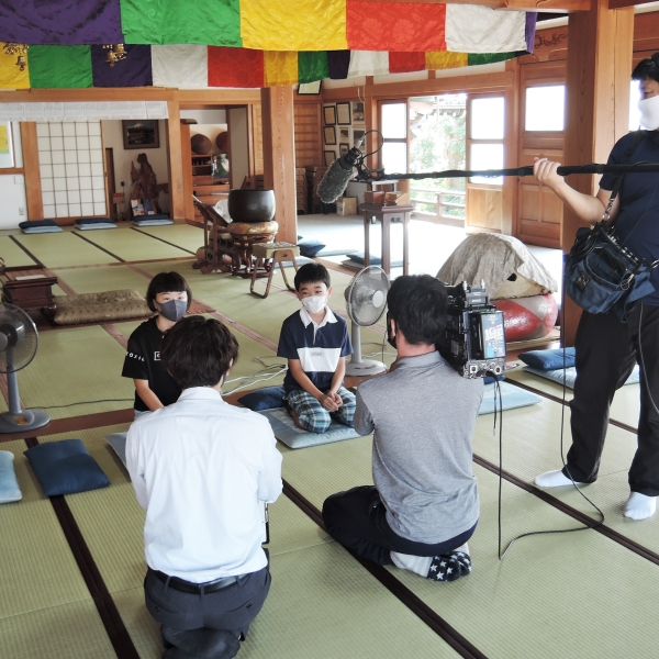 600子供坐禅会取材200822
