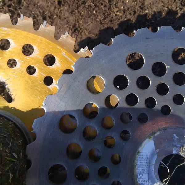 640草刈り機の刃に学ぶ調えるタイミング3