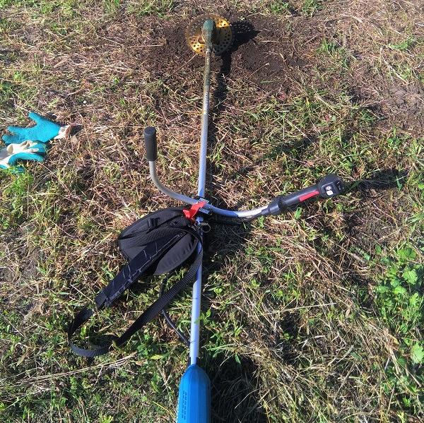 640草刈り機の刃に学ぶ調えるタイミング