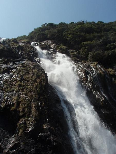 550滝の写真