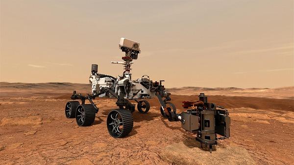 600火星探査機パーサヴィアランス