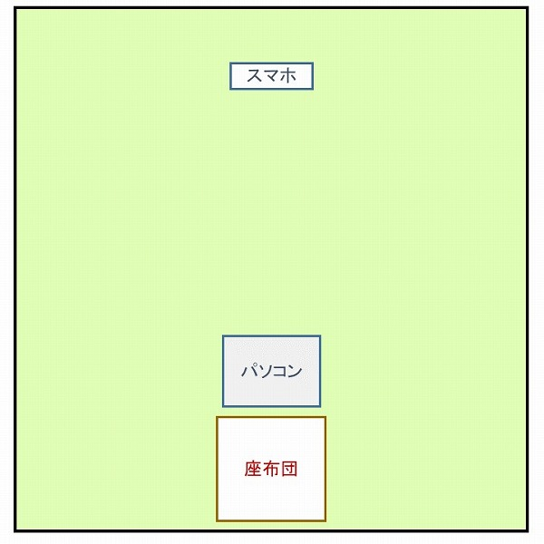 600オンライン坐禅会 会場図3022