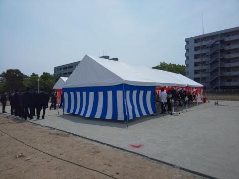 新庁舎安全祈願祭②(縮小版)