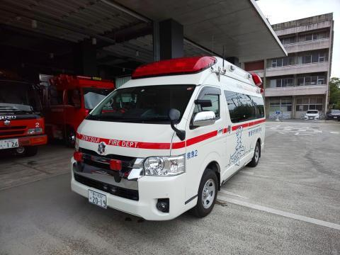 救急車①(縮小版)