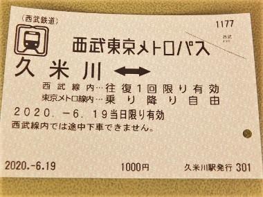 1西武東京メトロパス0619