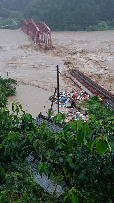 1球磨川第一橋梁水没0704