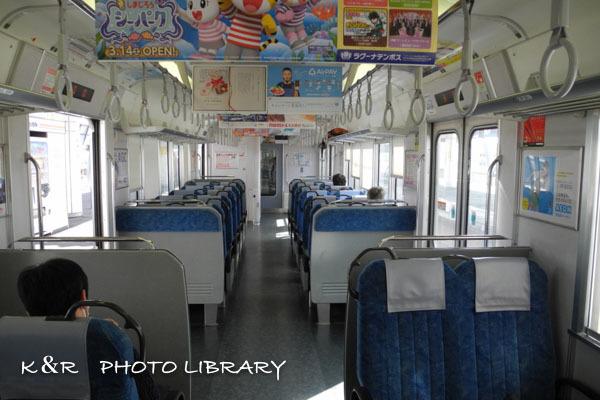 2020年3月7日4豊橋行き電車車内