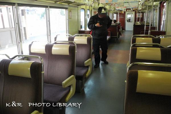 2020年3月7日8豊川稲荷行き電車車内
