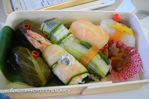 2020年11月22日9東京野菜のいろどり寿司