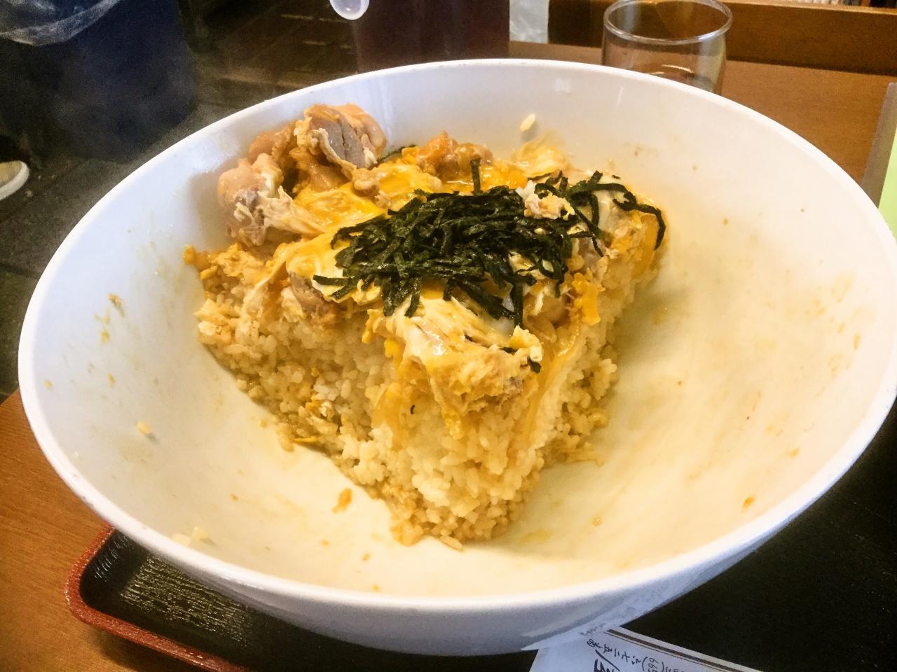 長岡屋(親子丼)