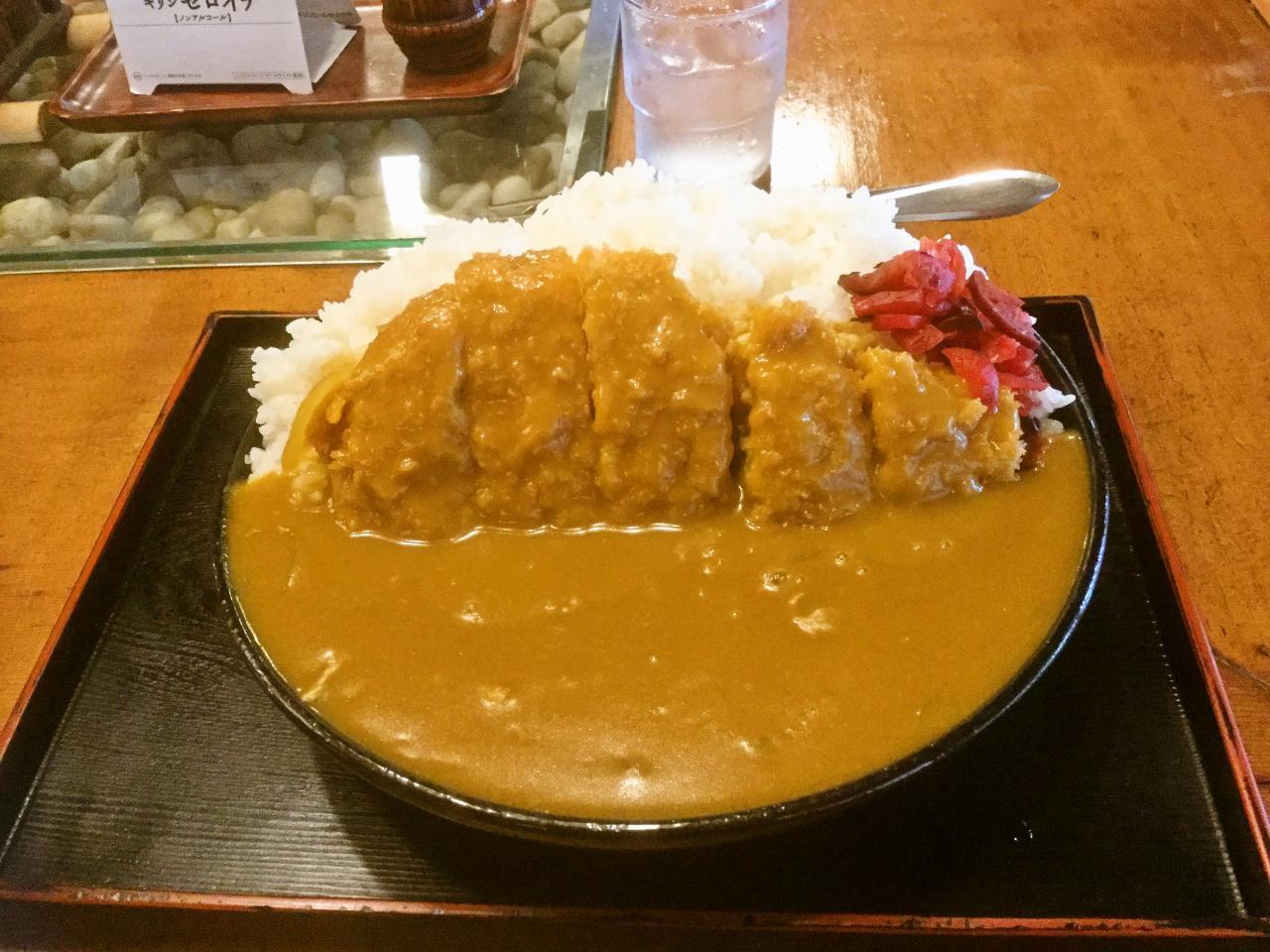 白根屋 金草沢店(カツカレー)