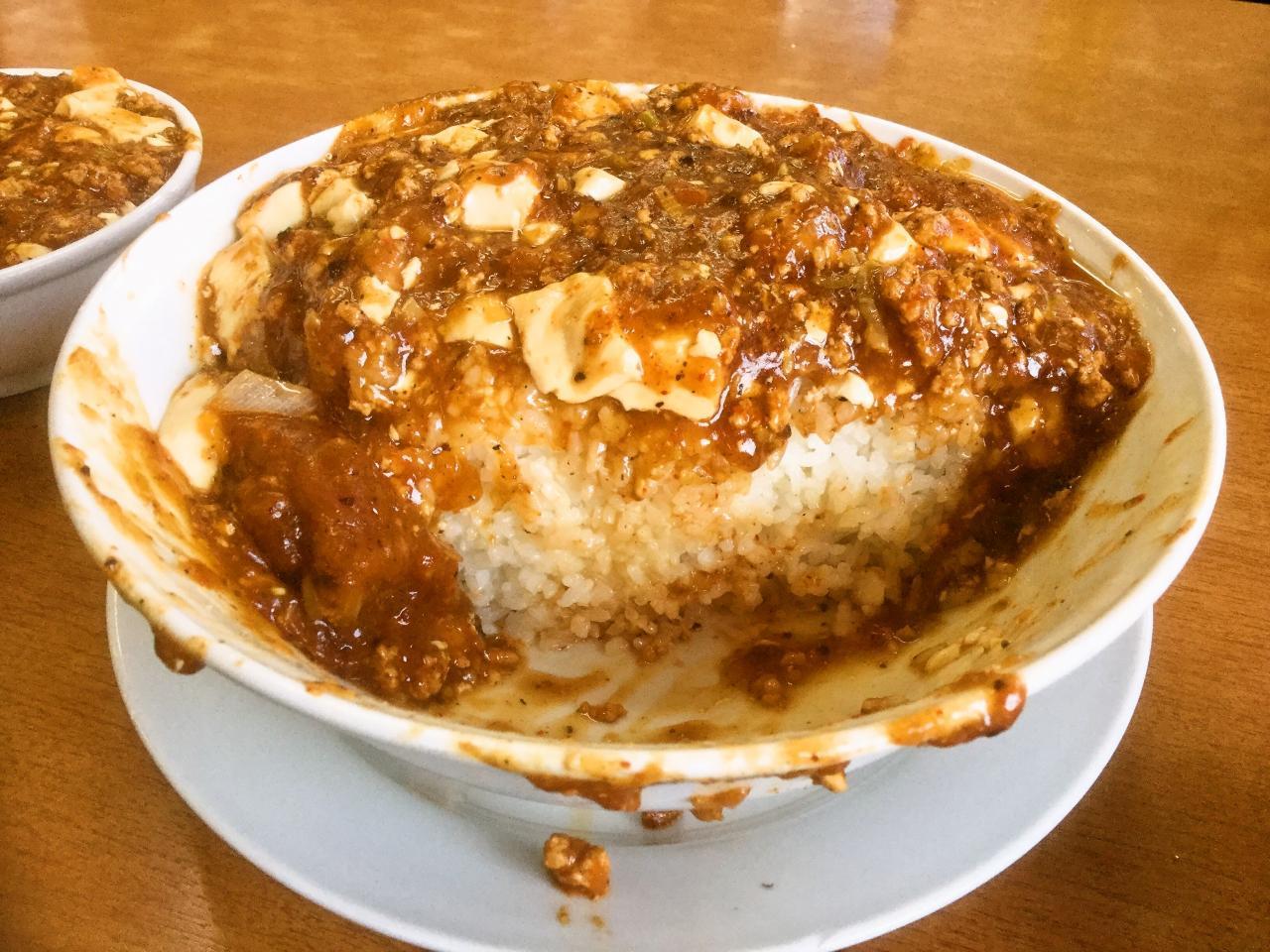 大進亭(マーボー丼)