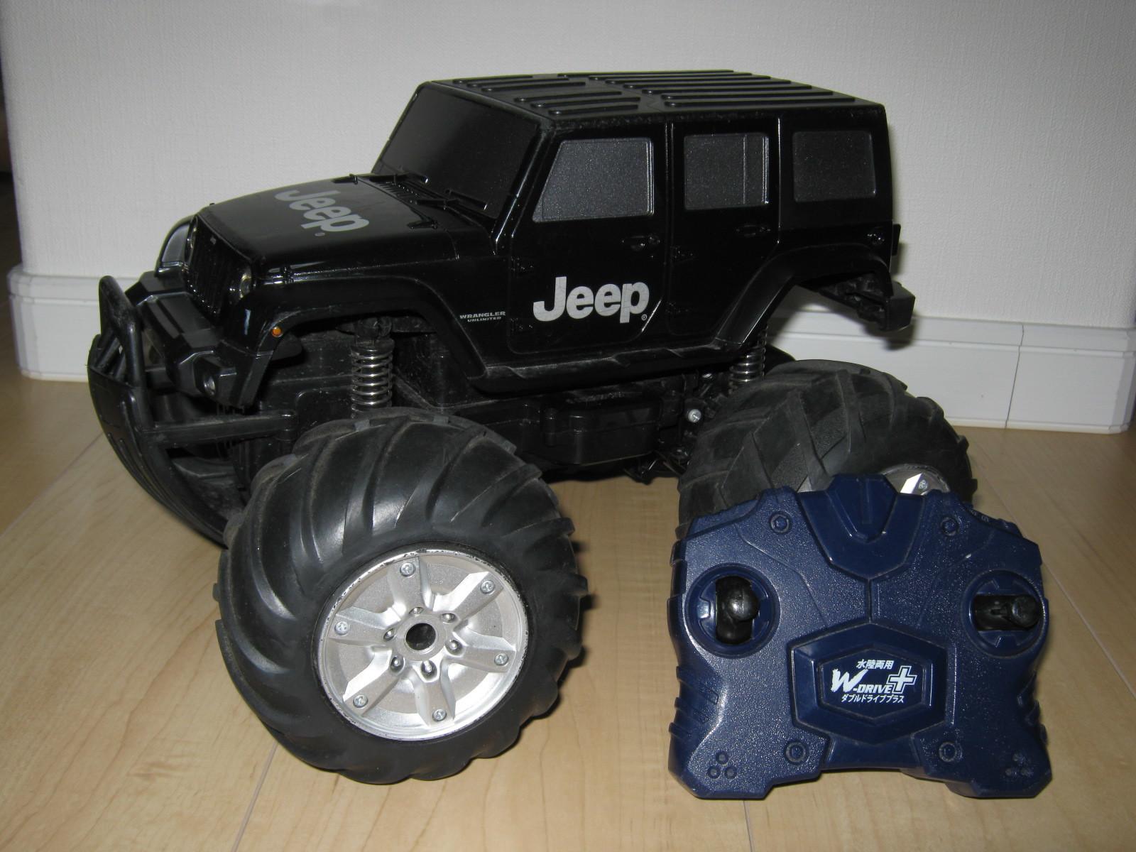 CCP社W-DRIVE+Jeep(2.4GHz)(前後進操作ボリューム接触不良)外観