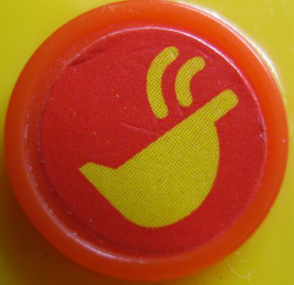 アンパンマンブルドーザ(3つボタン+車軸)バケット