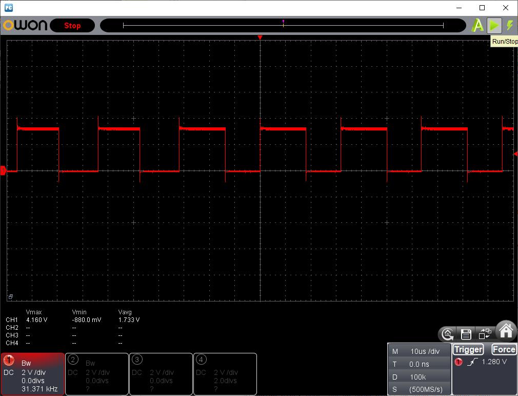 STMで音声再生PWM波形1