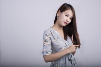 日本人と少し似ていない中国人女性