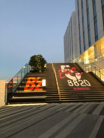 羽田イノベーションシティ_B'z階段