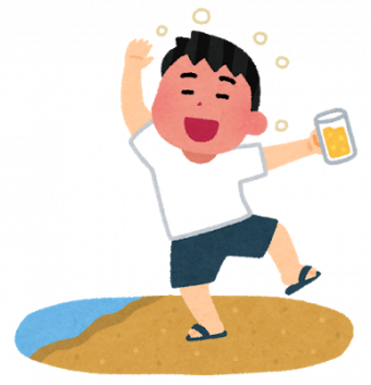 東京でコロナを気にせず飲む若者