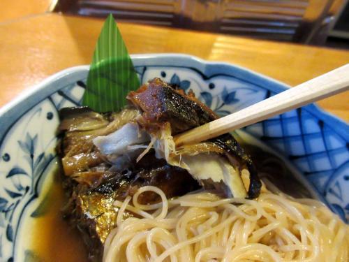 ほくほくの焼き鯖