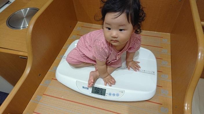 202010愛娘ちゃん体重測定 (1)