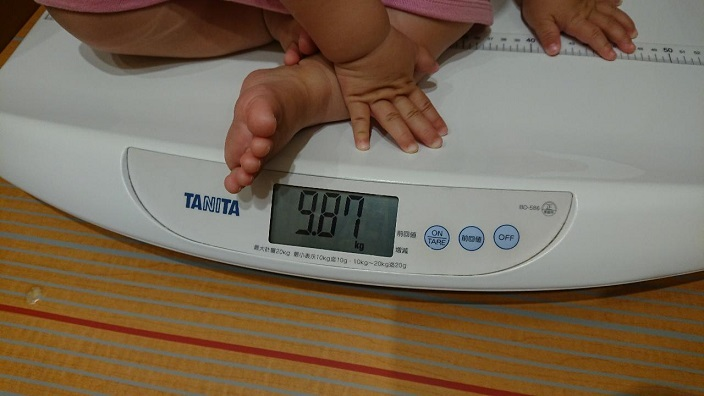 202010愛娘ちゃん体重測定 (2)