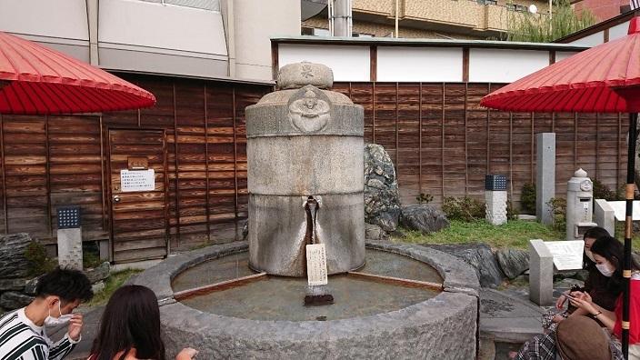 20201120道後温泉足湯 (3)