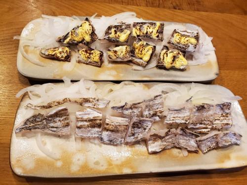 タチウオ炙り・炙りマヨ