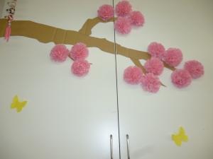 桜が咲きましたよ