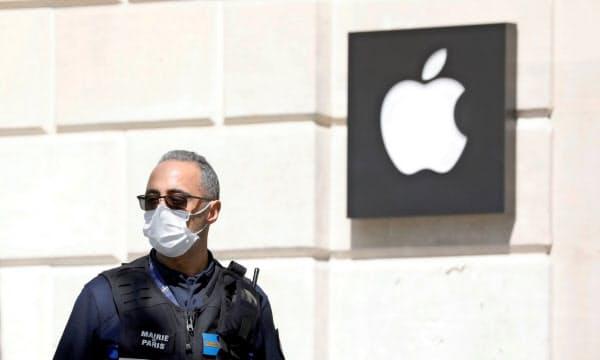 米アップル売上高1%増 1~3月、店舗閉鎖でも増収