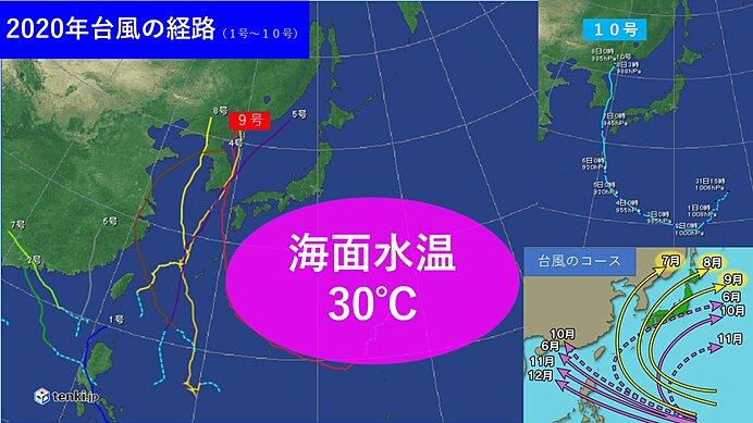台風10号 2