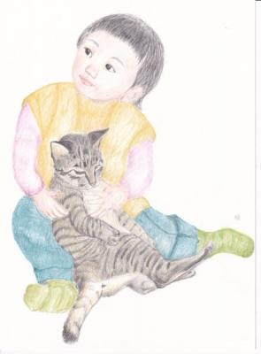 トラ猫と2